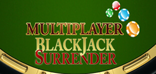 multiplayer blackjack surrender